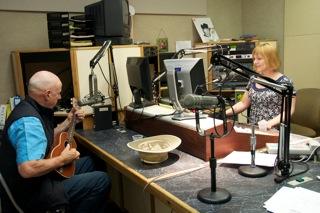 WRSI radio station, Neil with Joan Holliday
