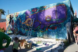 Street scene in San Diego