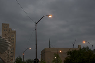 Stormy skies over Texas