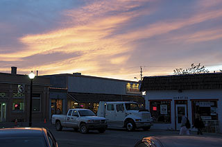 Sunset over Williams