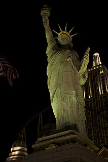 The Vegas Statue of Liberty