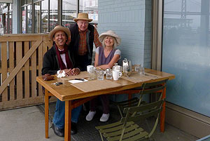 Ricky, Neil & Yvonne